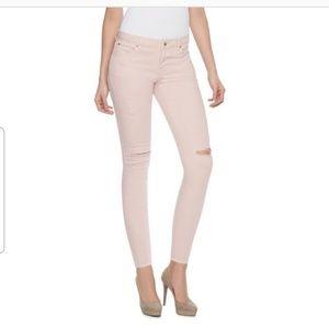 Jennifer Lopez Distressed Skinny Jean's sz 8